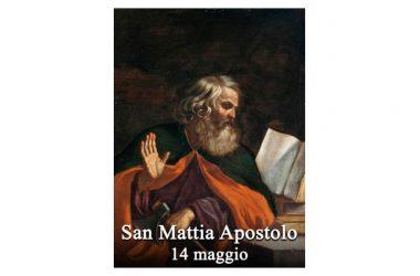 IL SANTO di oggi 14 Maggio – San Mattia