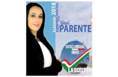 È GIUSI PARENTE un'altra candidata della lista LA SCELTA.