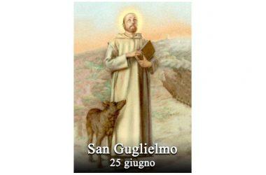 IL SANTO di oggi 25 giugno – San Guglielmo di Montevergine (da Vercelli)