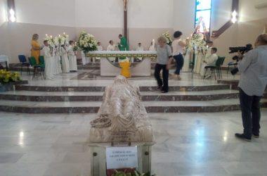 Francolise, il Cristo velato di Giuseppe Sammartino emoziona alla chiesa di San Germano Vescovo
