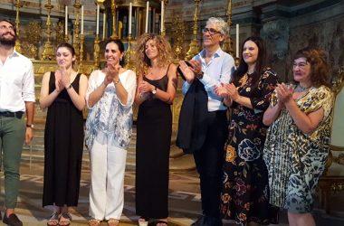 Concerto sulle note inedite del Gabbelloni, revisionate e trascritte dal maestro Ernesto Sparago, interpretate dalla soprano Teresa Sparago alla Capella Palatina della Reggia di Caserta
