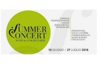 Invito Summer Concert | escursioni musicali nei luoghi d'arte di Terra di Lavoro