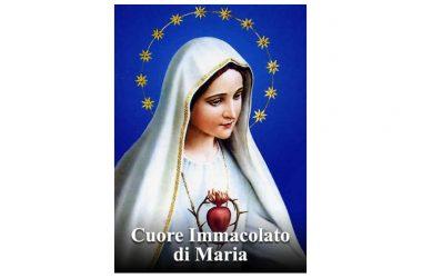 OGGI 20 Giugno si festeggia – Cuore Immacolato della Beata Vergine Maria