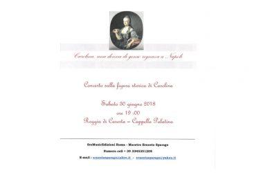 Concerto sulla figura storica di Carolina D'Asburgo