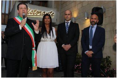 """Luigi Dell'Amura, ricordato con una statua alla memoria.  Andrea Buonocore: """"sì a una strada intitolata a Gigino"""""""