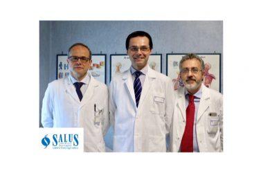 """Alla Salus straordinaria tecnica nella chirurgia vascolare. """"Nuovi interventi per il piede diabetico e per le ulcere e ferite """"difficili""""."""