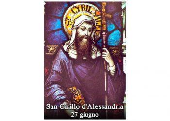 IL SANTO di oggi 27 Giugno – San Cirillo d'Alessandria