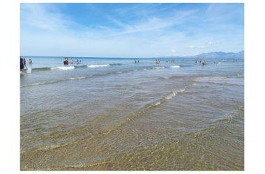 Litorale Domizio: è l'acqua più bella degli ultimi anni