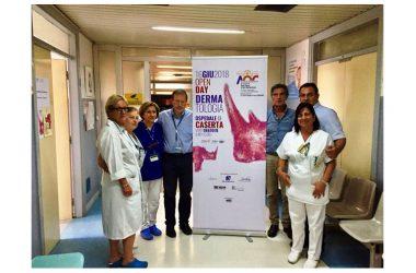 Open Day per la Dermatologia casertana, sabato porte aperte in ospedale per visite gratuite