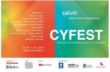 CYFEST, festival internazionale di arte e tecnologia, per la prima volta in Italia