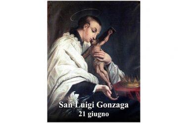 IL SANTO di oggi 21 Giugno – San Luigi Gonzaga
