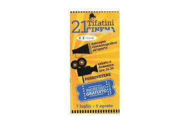 """Caserta – Ultimi due appuntamenti a Pozzovetere nell'ambito della Rassegna cinematografica all'aperto """"21 Tifatini Cinema"""""""