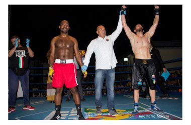 Giovanni Improta campione europeo World Boxing League