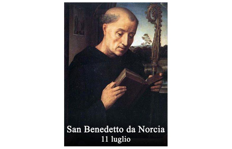 IL SANTO di oggi 11 luglio – San Benedetto da Norcia
