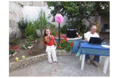 Festa per Sofia Cacciapuoti per immagini