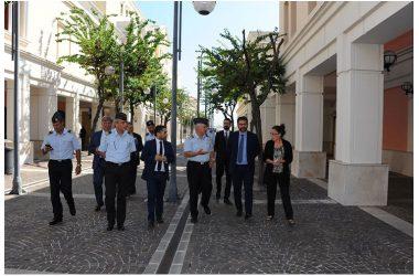 Difesa: Sottosegretario Tofalo visita aeroporto militare di Capodichino .