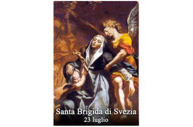 LA SANTA di oggi 23 Luglio – Santa Brigida di Svezia