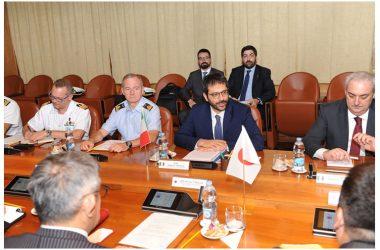 Difesa, Sottosegretario Tofalo riceve rappresentanti del Comitato Sicurezza del Giappone