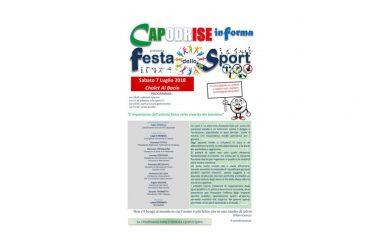 Capodrise in forma presenta Festa dello Sport