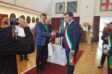 Sant'Angelo D'Alife, il gemellaggio con l'Aquila compie dieci anni: amministrazione in terra d'Abruzzo