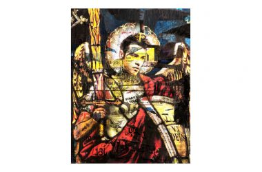 I quadri di Fedez e Ferragni apprezzati dagli stranieri
