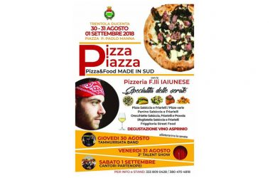 """Pizza Piazza a Trentola Ducenta, Fratelli Iaiunese in prima linea con sue specialità: """"Evento che valorizza tradizioni"""""""
