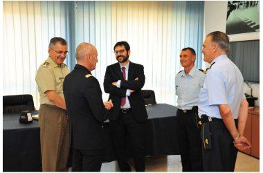 Difesa: Il Sottosegretario Tofalo visita il Comando C4 Difesa e il Comando Interforze per le Operazioni Cibernetiche