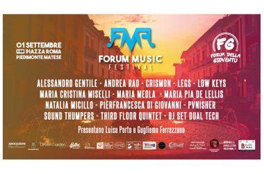 FORUM MUSIC FESTIVAL, IL 1 SETTEMBE L'EVENTO RIVOLTO AI GIOVANI TALENTI