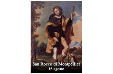 IL SANTO di oggi 16 Agosto – San Rocco