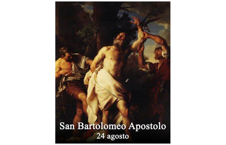 IL SANTO di oggi 24 Agosto – San Bartolomeo