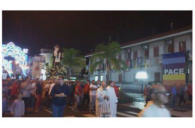 Brusciano Iniziata la 143esima Festa dei Gigli in Onore di Sant'Antonio di Padova