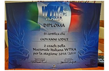 M° Giovanni IODICE Coach della Nazionale