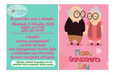 Capua. Il 2 ottobre Festa dei nonni all'istituto Paideia di Capua.