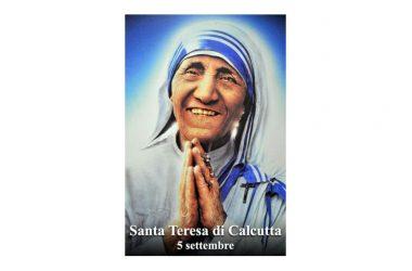 LA SANTA di oggi 5 Settembre – Santa Teresa di Calcutta