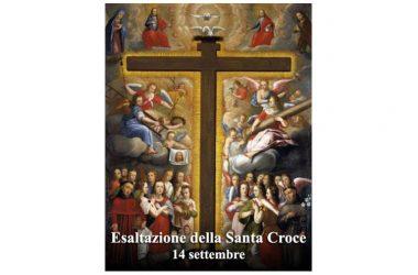 OGGI 14 Settembre si celebra l'Esaltazione della Santa Croce
