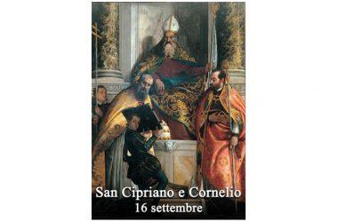 I SANTI di oggi 16 Settembre – San Cipriano e Cornelio