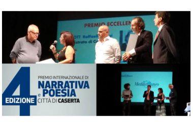 CASERTA. TUTTI I VINCITORI : GRANDE SUCCESSO DEL PREMIO LETTERARIO INTERNAZIONALE CITTA' DI CASERTA DI NARRATIVE E POESIA .