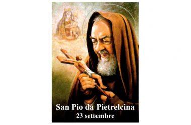 IL SANTO di oggi 23 Settembre – San Pio da Pietrelcina