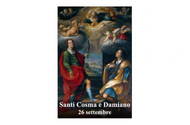 I SANTI di oggi 26 Settembre – Santi Cosma e Damiano