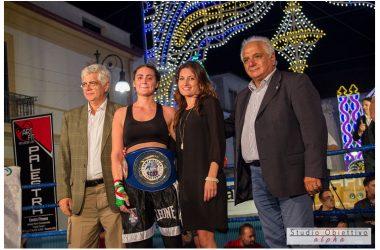 Vincenza Improta campionessa nazionale di Boxe A.S.I.