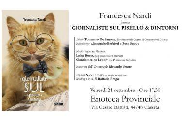 Francesca Nardi presenta GIORNALISTE SUL PISELLO & DINTORNI