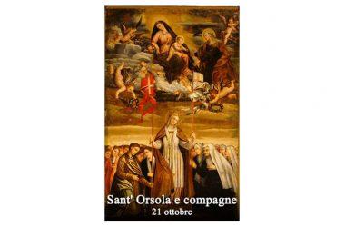 IL SANTO di oggi 21 Ottobre – Sant' Orsola e compagne