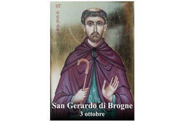 IL SANTO di oggi 3 Ottobre –  San Gerardo di Brogne