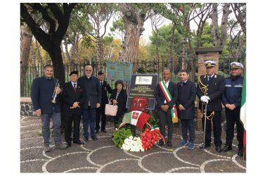 Pompei 22 ottobre commemorato il Decorato Rodolfo Severino.