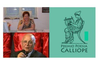 PREMIO INTERNAZIONALE CALLIOPE 4^ EDIZIONE, SABATO 20 OTTOBRE LA PREMIAZIONE