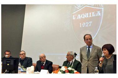90 Anni e più di Calcio Aquilano ripercorsi da Dante Capaldi ed Enrico Cavalli