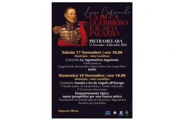A Pietramelara il secondo appuntamento con il Duca Caracciolo, questo fine settimana