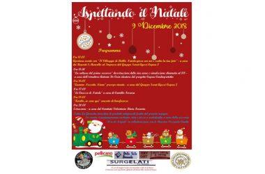 """Capua . """"Aspettando il Natale"""". Il  9 dicembre  2018 il Villaggio di Babbo Natale si trasferisce nella  città di Fieramosca."""
