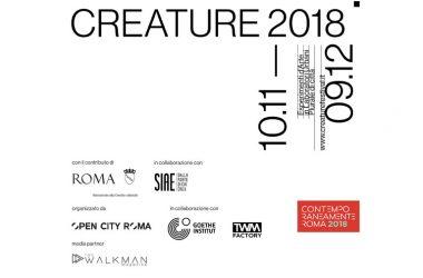 """TORNA """"CREATURE"""", FESTIVAL DELLA CREATIVITA' URBANA"""