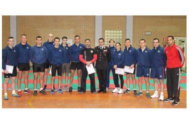 Scuola ufficiali carabinieri Roma: stage con il Maestro Improta